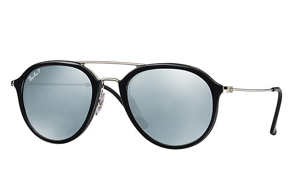 Ray-Ban  prescription sunglasses RB4253 UNISEX P001 rb4253 black RX_8053672738865?roxLensPartNumber=Silver_Flash_Polar_SV