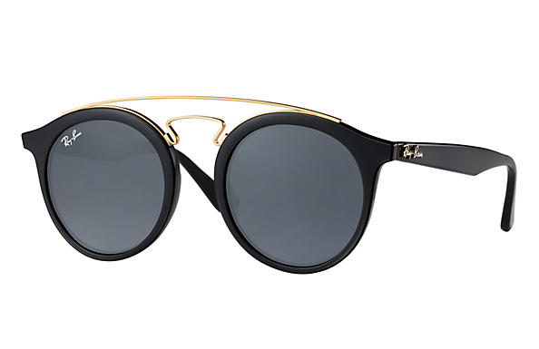 Ray-Ban  prescription sunglasses RB4256 MALE P007 rb4256 gatsby i black RX_8053672615722?roxLensPartNumber=Blue_Gray_Classic_SV
