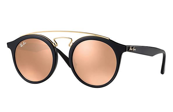 Ray-Ban  prescription sunglasses RB4256 MALE P007 rb4256 gatsby i black RX_8053672615722?roxLensPartNumber=Copper_Flash_SV