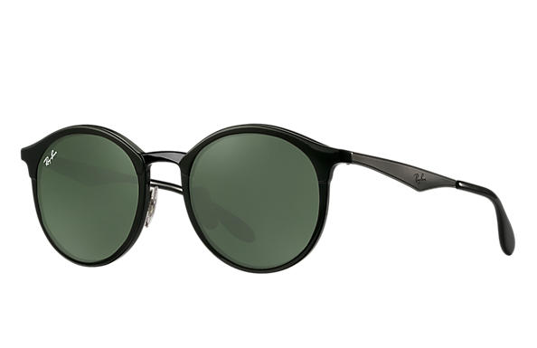 25b37d096f7f8 Ray-Ban Emma RB4277 Black - Injected - Green Prescription Lenses ...