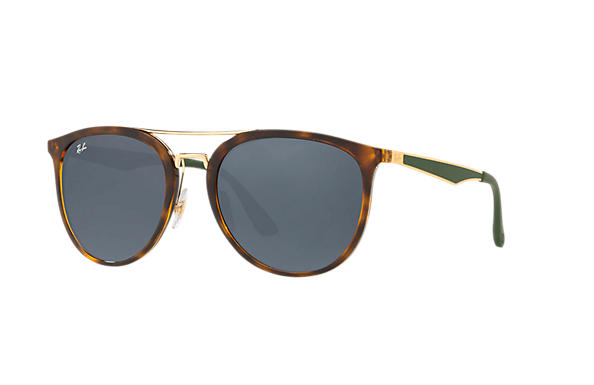 Ray-Ban  prescription sunglasses RB4285 UNISEX P002 rb4285 tortoise RX_8053672926996?roxLensPartNumber=Blue_Gray_Classic_SV