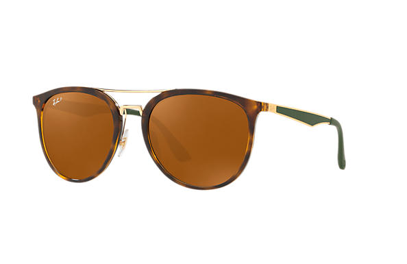 Ray-Ban  prescription sunglasses RB4285 UNISEX P002 rb4285 tortoise RX_8053672926996?roxLensPartNumber=Brown_Classic_B 15_Polar_SV