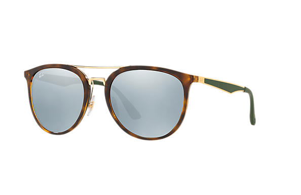 Ray-Ban  prescription sunglasses RB4285 UNISEX P002 rb4285 tortoise RX_8053672926996?roxLensPartNumber=Silver_Flash_Polar_SV
