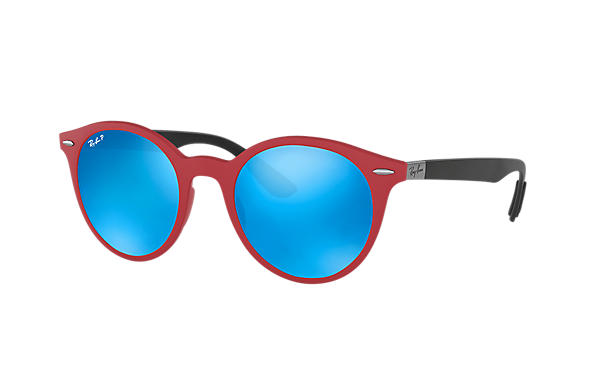 Ray-Ban  prescription sunglasses RB4296 UNISEX P002 rb4296 red RX_8053672904772?roxLensPartNumber=Blue_Flash_Polar_SV