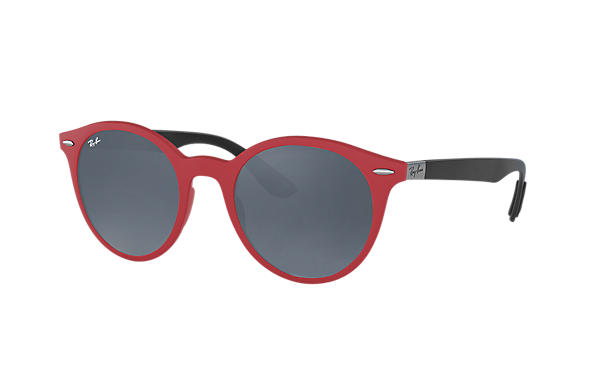Ray-Ban  prescription sunglasses RB4296 UNISEX P002 rb4296 red RX_8053672904772?roxLensPartNumber=Blue_Gray_Classic_SV