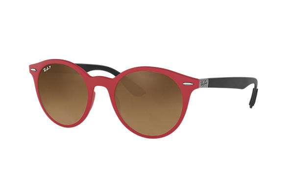 Ray-Ban  prescription sunglasses RB4296 UNISEX P002 rb4296 red RX_8053672904772?roxLensPartNumber=Brown_Gradient_Polar_SV