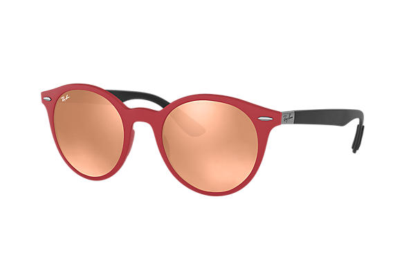 Ray-Ban  prescription sunglasses RB4296 UNISEX P002 rb4296 red RX_8053672904772?roxLensPartNumber=Copper_Flash_SV