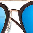 Ray-Ban  prescription sunglasses RB4298 UNISEX P001 rb4298 brown RX_8053672876727?roxLensPartNumber=Blue_Flash_Polar_SV