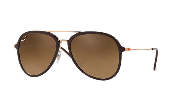 Ray-Ban  prescription sunglasses RB4298 UNISEX P001 rb4298 brown RX_8053672876727?roxLensPartNumber=Brown_Gradient_Polar_SV