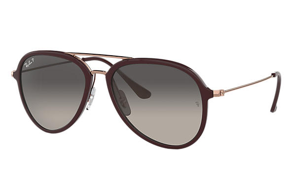 Ray-Ban  prescription sunglasses RB4298 UNISEX P001 rb4298 brown RX_8053672876727?roxLensPartNumber=Grey_Gradient_Polar_SV