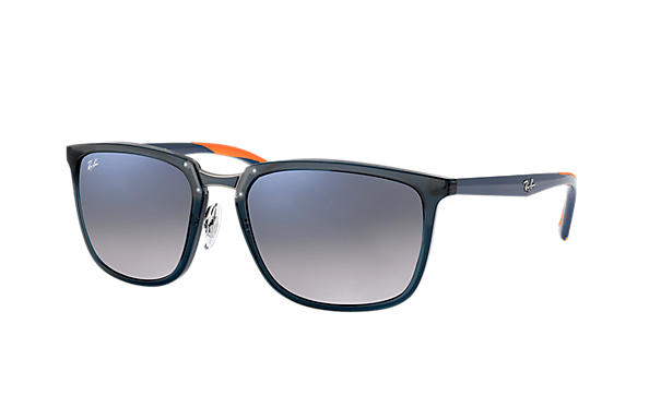 Ray-Ban  prescription sunglasses RB4303 MALE P001 rb4303 blue RX_8053672919929?roxLensPartNumber=Blue_Grey_Gradient_Polar_SV