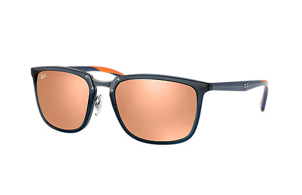 Ray-Ban  prescription sunglasses RB4303 MALE P001 rb4303 blue RX_8053672919929?roxLensPartNumber=Copper_Flash_SV