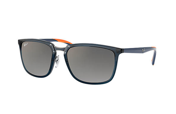 Ray-Ban  prescription sunglasses RB4303 MALE P001 rb4303 blue RX_8053672919929?roxLensPartNumber=Grey_Gradient_Polar_SV