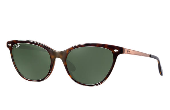 Ray-Ban 0RB4360-RB4360 Tortoise,Brown; Bronze-Copper ROX_FRAME