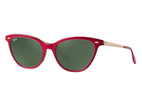 Ray-Ban 0RB4360-RB4360 Red,Tortoise; Gold ROX_FRAME