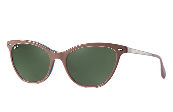 Ray-Ban 0RB4360-RB4360 Light Brown,Blue; Silver ROX_FRAME