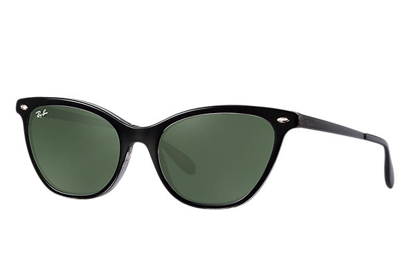 Ray-Ban 0RB4360-RB4360 Black,Transparent; Black ROX_FRAME