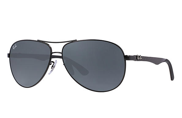Ray-Ban  prescription sunglasses RB8313 MALE P011 rb8313 black RX_8053672346299?roxLensPartNumber=Blue_Gray_Classic_SV
