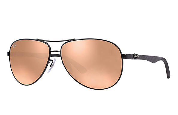 Ray-Ban  prescription sunglasses RB8313 MALE P011 rb8313 black RX_8053672346299?roxLensPartNumber=Copper_Flash_SV
