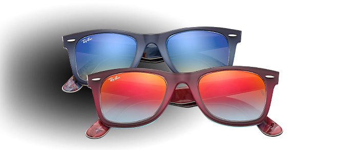 Ray-Ban Wayfarer Flash Lenses