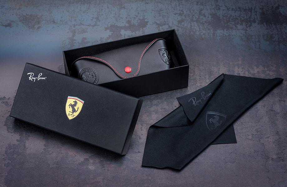 b3a08749e6 SCUDERIA FERRARI COLLECTION SPECIAL CASE. Ray Ban Ferrari Collection
